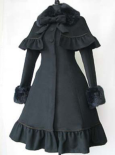 Coat with frill cape by beth
