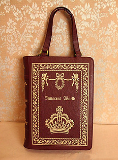 Innocent World Antique Book Bag