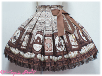 Mussee du chocolate Angelic Pretty skirt