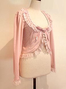 Ouranos Bolero pink Innocent World
