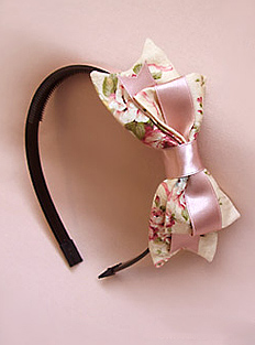 Roccoco Rose Headbow Innocent World