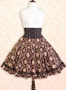 Versaille Rose Skirt Innocent World